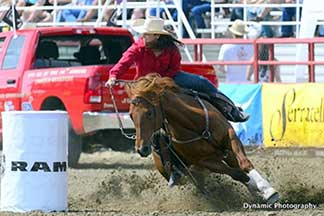 CFR barrel racing qualifier Cranna Roberts